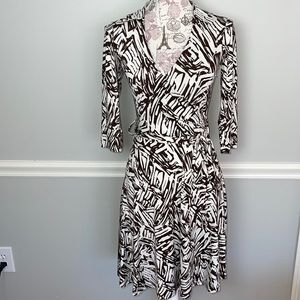 Forever 21 Faux Wrap Dress Small